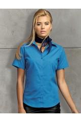 PW302 Ladies Poplin Blouse Short Sleeve